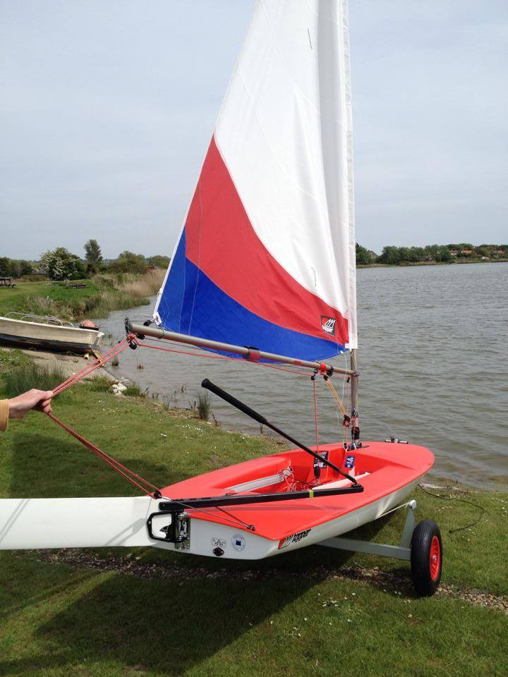Apollo Duck Dinghy >> Shepway District Council Funds New Topper Training Dinghy – Redoubt Sailing Club